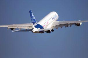Passager, avion, jet, décollage, véhicule, transport, voyage